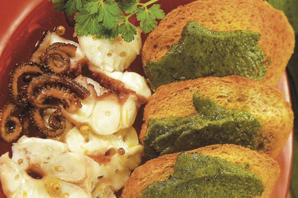 Bruschette-polpo-e-salsa-verde