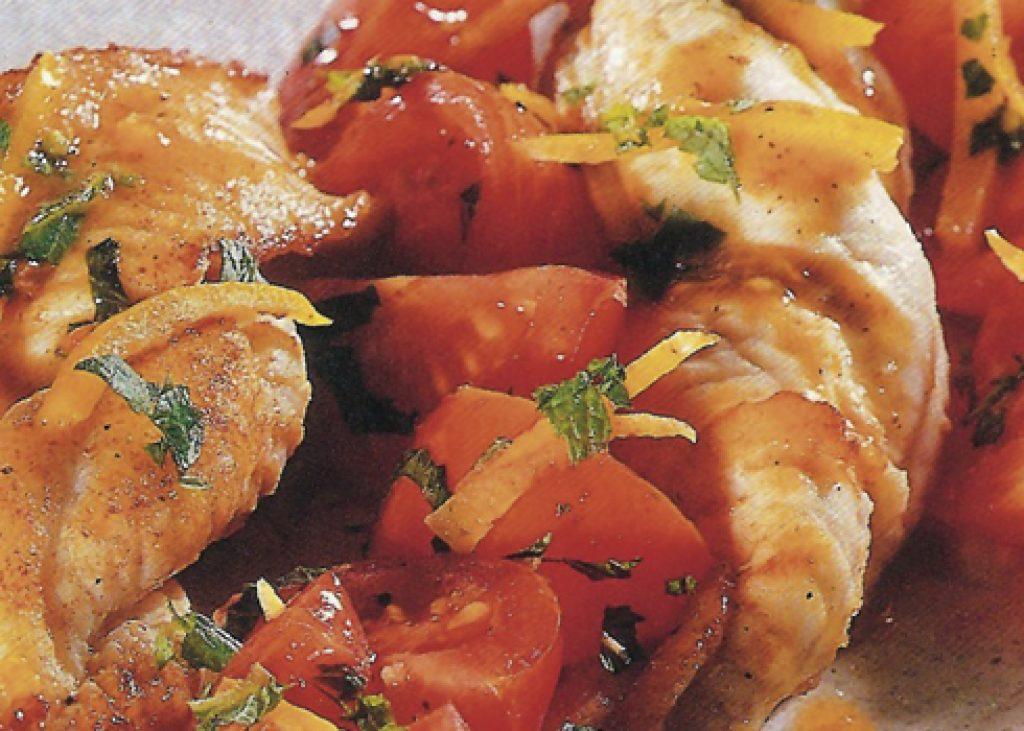 Filetti-di-sogliola-con-pomodorini-e-menta