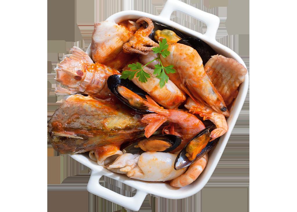 Zuppa sapore di mare_preparato